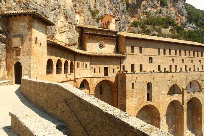 Субиако. Монастырь святого Бенедикта