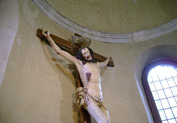 Пьетросанти. Распятие. Церковь Санта Мария ин Арачели.