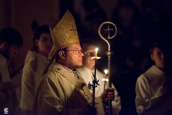 Архиепископ Павел Пецци: «В свете Воскресения мы можем смотреть на всё». Проповедь в Навечерие Пасхи