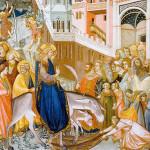 Благословен Царь: проповедь на Вербное воскресенье