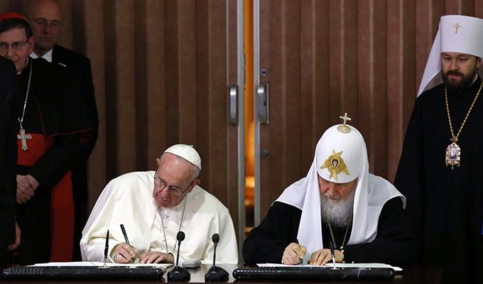Проект «Русские католики» начал подробный разбор кубинской декларации