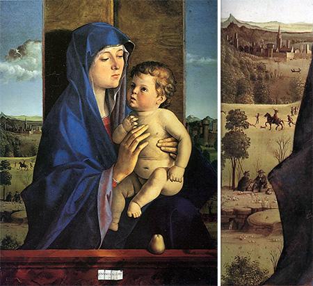 Джованни Беллини. Мадонна с младенцем. 1483. Академия Каррара, Бергамо