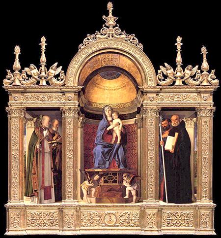 Джованни Беллини. Триптих. 1488. Церковь Санта-Мария-дей-Фрари, Венеция