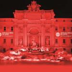 Фонтан Треви окрасится в красный в память о христианских мучениках