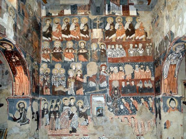 Фрески в монастыре св. Моисея. Фото: wikimedia.org