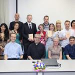Выпускной в Институте св. Фомы