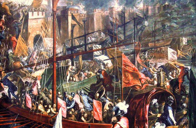 IV крестовый поход — «против православных»
