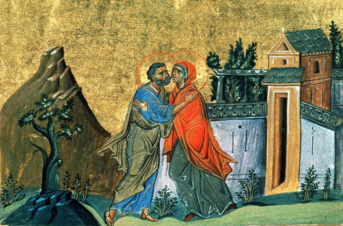 26 июля — свв. Иоаким и Анна