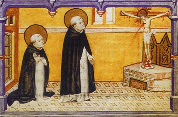 Как молился святой Доминик?