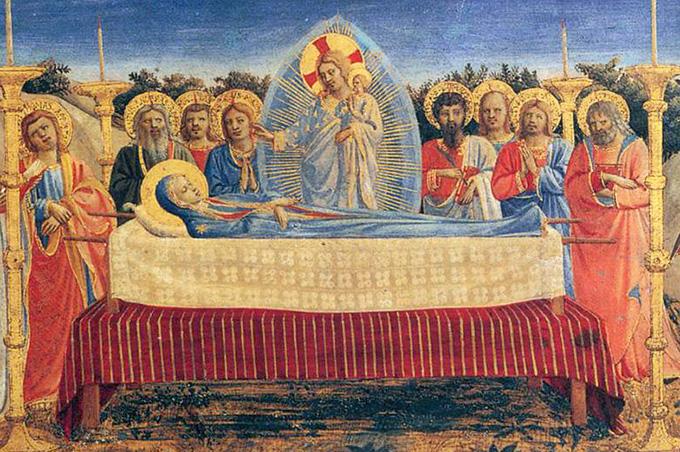 15 августа — Успение Пресвятой Девы Марии
