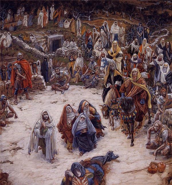 Что видел Иисус Христос с креста