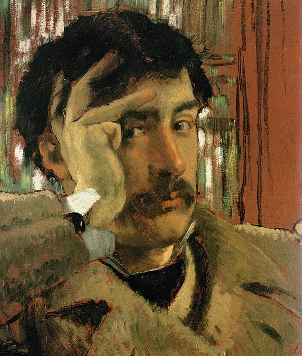 Джеймс Тиссо. Автопортрет. 1865. Холст, масло. Музей изобразительных искусств Сан-Франциско
