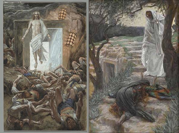 1) Воскресение Иисуса Христа; 2) Не прикасайся ко мне