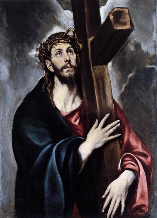Христос, несущий крест. 1578. Холст, масло. 108х78. Музей Прадо, Мадрид