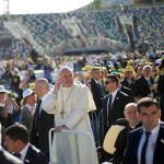 Проповедь Папы на стадионе имени М. Месхи в Тбилиси