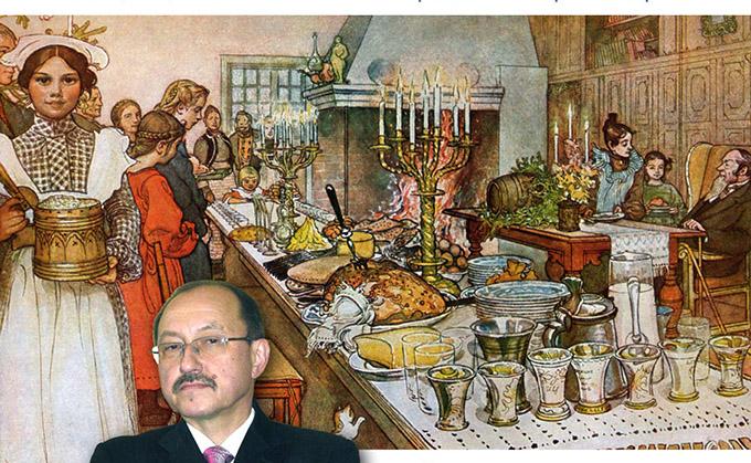 10 декабря — Лекция «Рождество: история праздника и рождественские блюда»