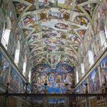 Свод Cикстинской капеллы: пророки и сивиллы Микеланджело Буонарроти