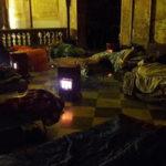 Церковь предлагает бездомным убежище от холода