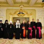 Кардинал Паролин встретился с Патриархом Кириллом в Москве