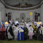 Фото: Рождественский спектакль в храме св. Людовика в Москве