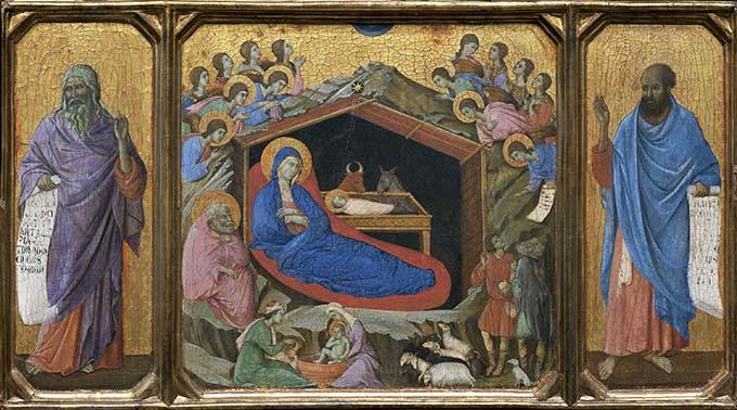 «Рождество Христово» Дуччо Ди Буонинсенья: на пути к Ренессансу