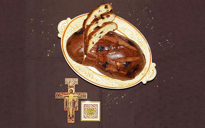 Сладкий хлеб из Сан-Дамиано