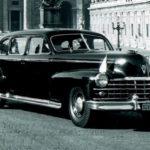 Послевоенное десятилетие: Римские Папы в американских автомобилях