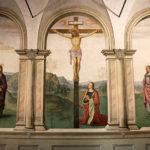 Пространственные композиции Перуджино. Светлая вера в Воскресение