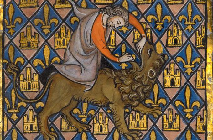 Библейский зоопарк: битва со львом