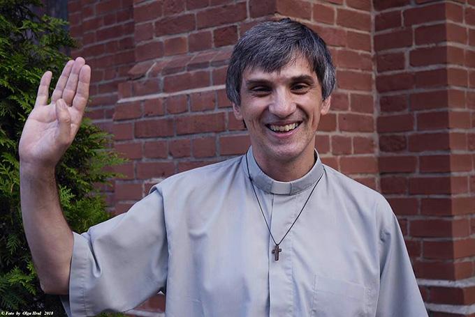 Прощание с отцом: о. Даниеле Солаццо завершил своё служение в России