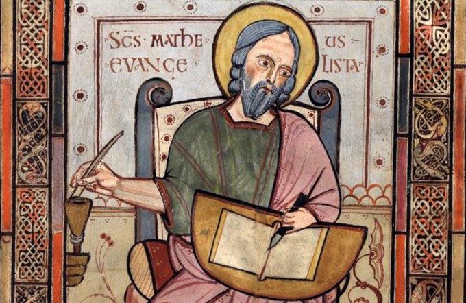 21 сентября — св. Апостол Матфей