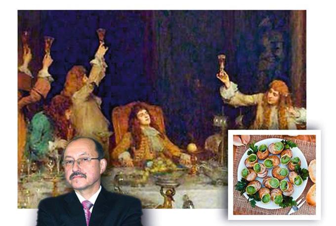 27 октября — Лекция «Французский классический обед как «религиозная» церемония»
