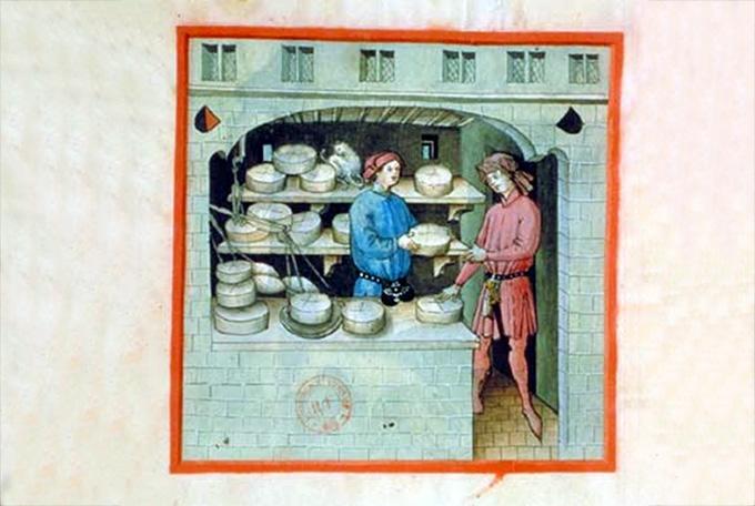 Французская сырная тарелка