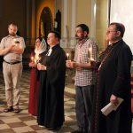 Фото: молитвенное бдение накануне Пятидесятницы