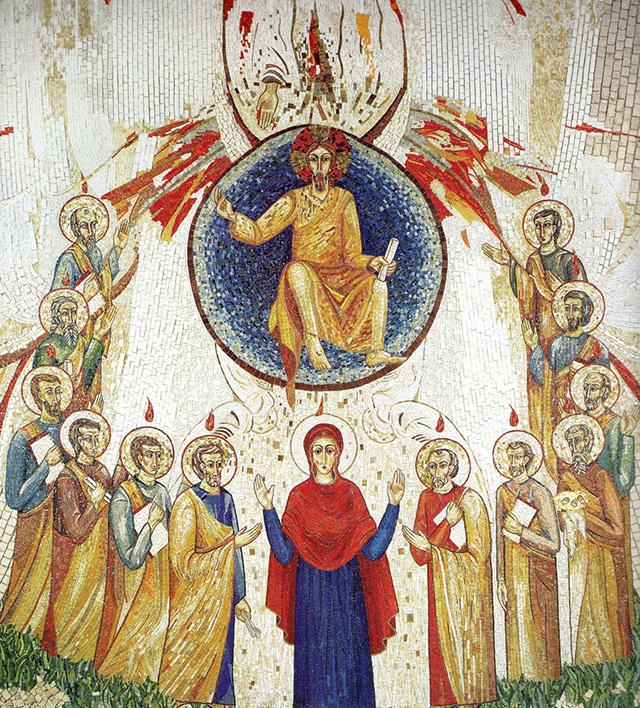 Искусство как форма богословия: мозаики Марко Рупника 16