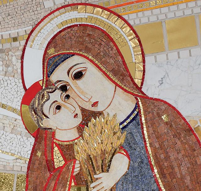Искусство как форма богословия: мозаики Марко Рупника 54