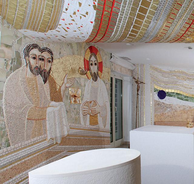 Искусство как форма богословия: мозаики Марко Рупника 55