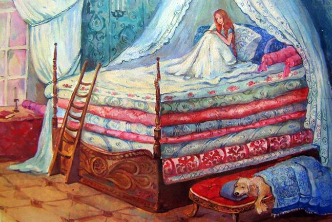 Богословие в сказках: принцесса на горошине