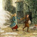Путь к пещере Рождества: в замке разбойников
