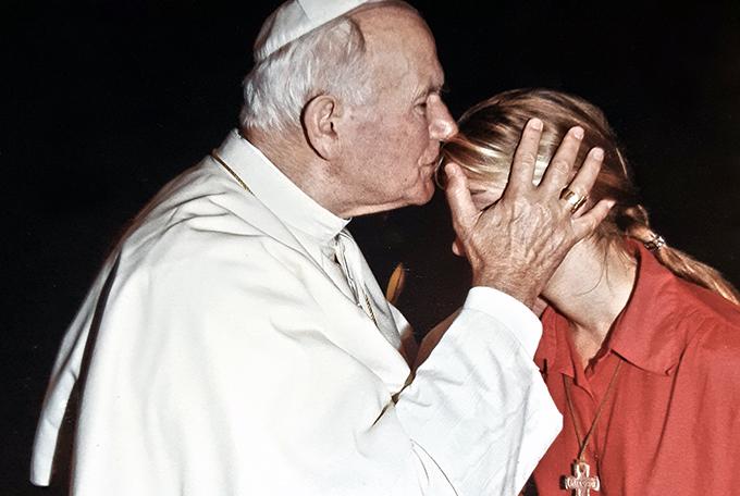 Екатерина Головастикова: молодёжный хор в гостях у Папы