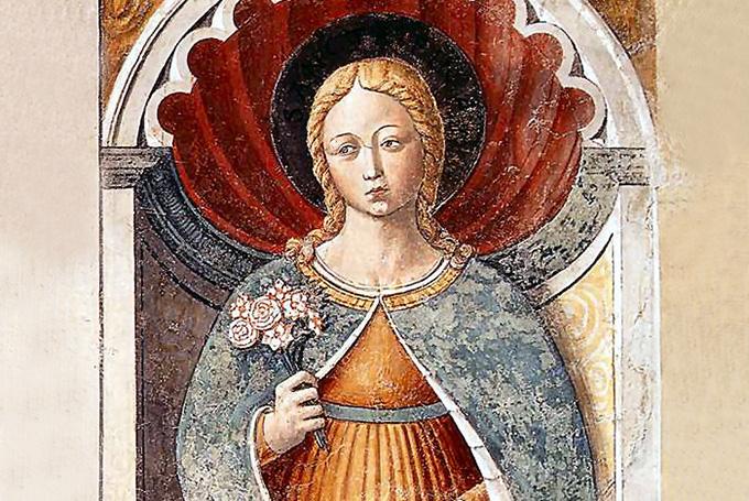 Легенда святой Фины из Сан-Джиминьяно