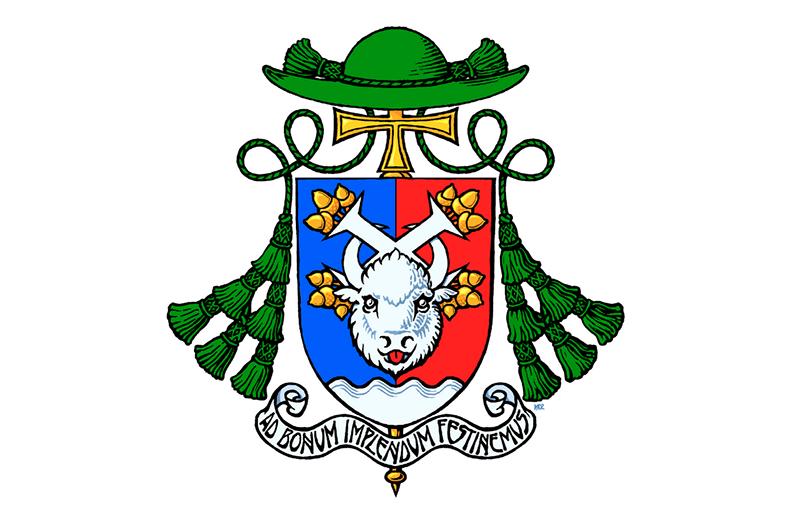 Обнародован герб вспомогательного епископа Архиепархии Божией Матери