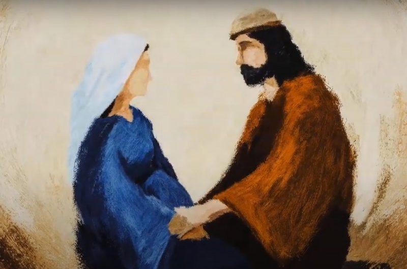 Видео: как Мария готовилась к Рождеству