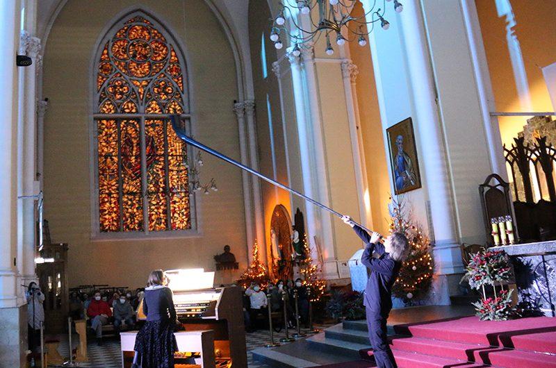 Фото: торжественное закрытие XIII Международного рождественского музыкального фестиваля