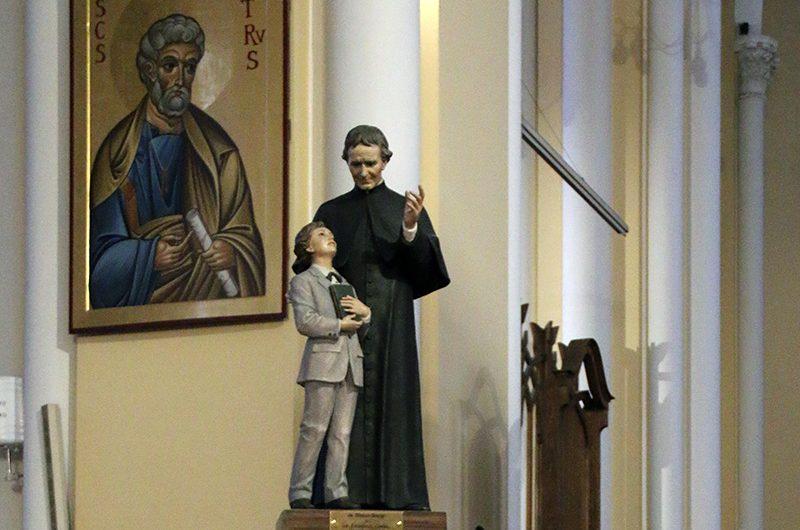 Фото: Праздник св. Иоанна Боско в Кафедральном соборе в Москве