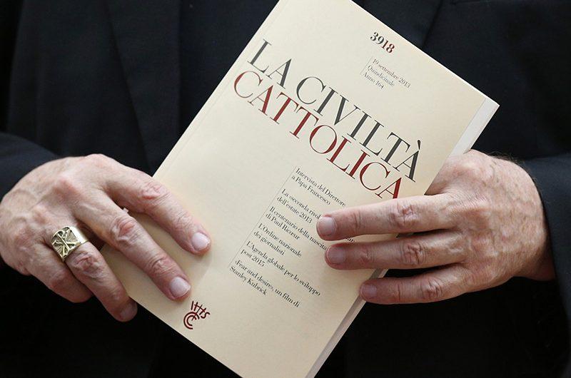 """Журнал """"La Civiltà Cattolica"""" теперь доступен на русском языке"""