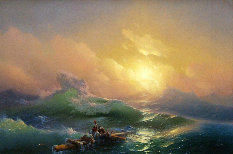Картины Ивана Айвазовского: ад, где твоя победа?