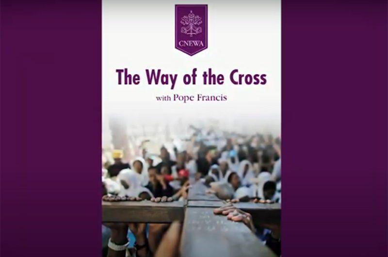 Видео: Крестный путь с Папой Франциском