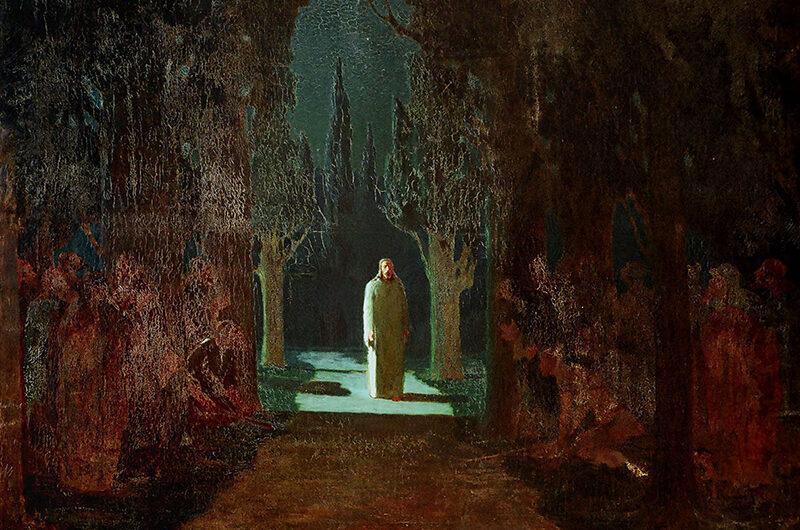 «Христос в Гефсиманском саду» Архипа Куинджи: в поисках света