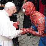 Встреча Папы и Человека-паука